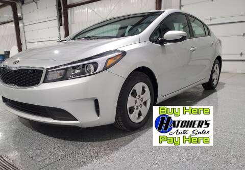 2017 Kia Forte for sale at Hatcher's Auto Sales, LLC - Buy Here Pay Here in Campbellsville KY