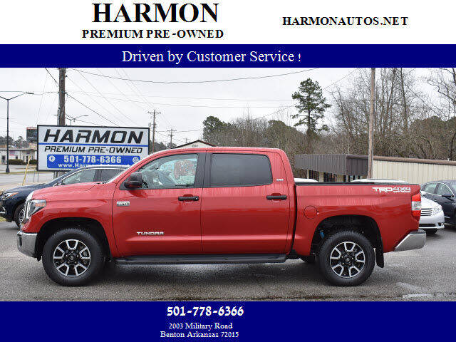 2019 Toyota Tundra for sale at Harmon Premium Pre-Owned in Benton AR
