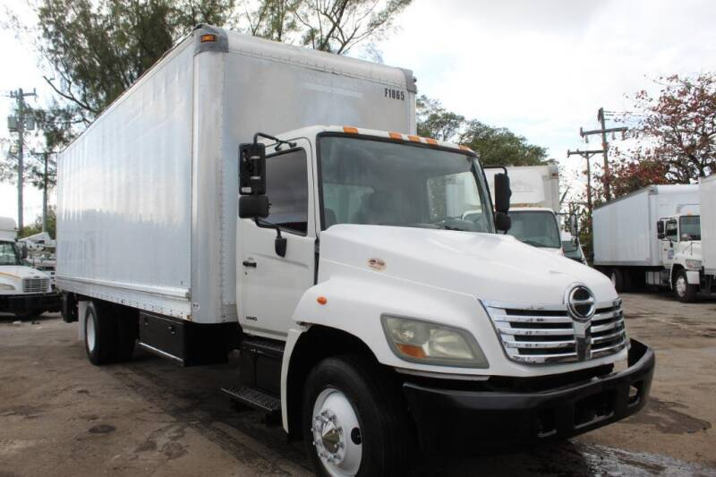 2008 Hino 268 for sale at Truck and Van Outlet - All Inventory in Hollywood FL