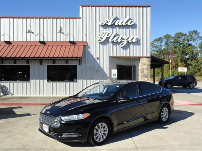 2016 Ford Fusion for sale at Grantz Auto Plaza LLC in Lumberton TX