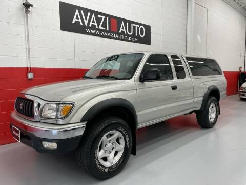 2002 Toyota Tacoma for sale at AVAZI AUTO GROUP LLC in Gaithersburg MD