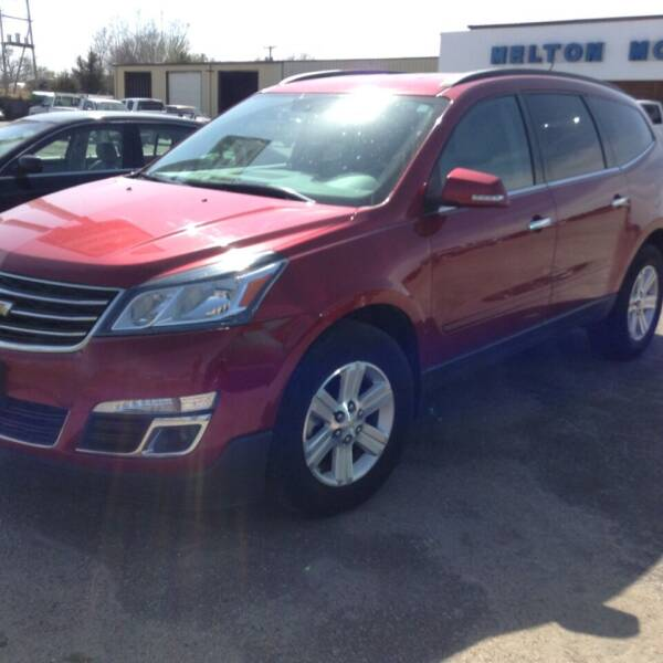 2013 Chevrolet Traverse for sale at Melton Chevrolet in Belleville KS