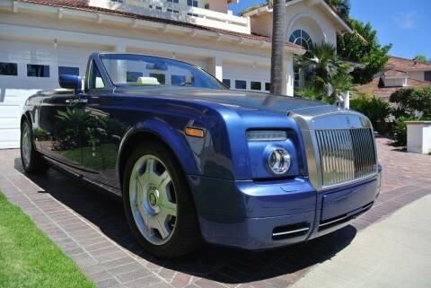 2009 Rolls-Royce Phantom Drophead Coupe for sale at Newport Motor Cars llc in Costa Mesa CA