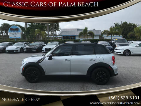 2011 MINI Cooper Countryman for sale at Classic Cars of Palm Beach in Jupiter FL