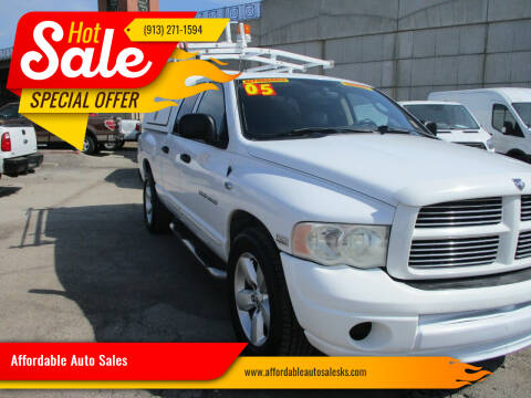 2005 Dodge Ram Pickup 1500 for sale at Affordable Auto Sales in Olathe KS