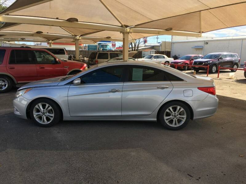 2011 Hyundai Sonata for sale at A ASSOCIATED VEHICLE SALES in Weatherford TX