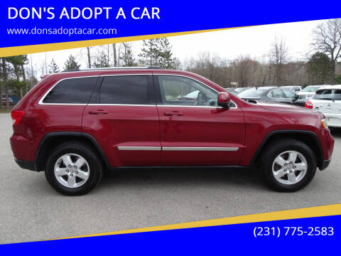 2012 Jeep Grand Cherokee for sale at DON'S ADOPT A CAR in Cadillac MI