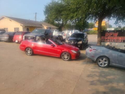 2012 Mercedes-Benz E-Class for sale at Bad Credit Call Fadi in Dallas TX