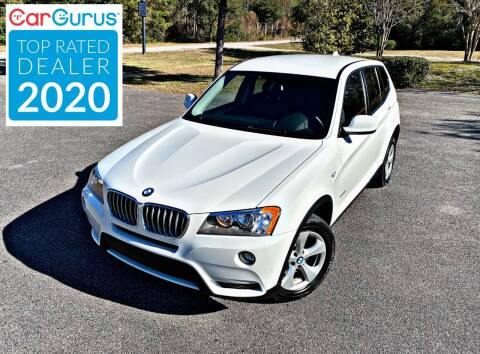 2012 BMW X3 for sale at Brothers Auto Sales of Conway in Conway SC