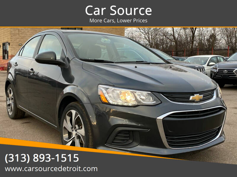2019 Chevrolet Sonic for sale at Car Source in Detroit MI