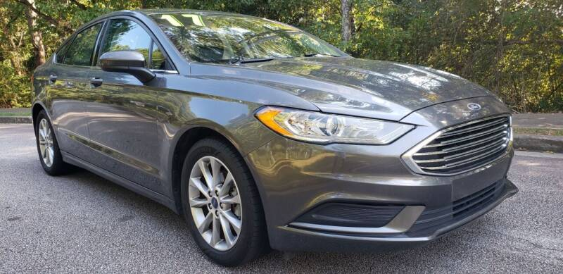 2017 Ford Fusion for sale at Chris Motors in Decatur GA
