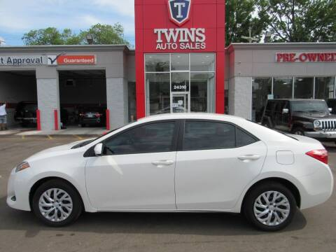 2019 Toyota Corolla for sale at Twins Auto Sales Inc - Detroit in Detroit MI