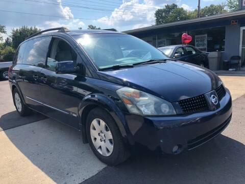 2006 Nissan Quest for sale at Wise Investments Auto Sales in Sellersburg IN