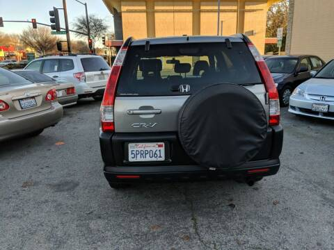 2005 Honda CR-V for sale at Auto City in Redwood City CA