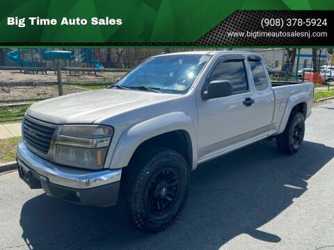 2008 GMC Canyon for sale at Big Time Auto Sales in Vauxhall NJ