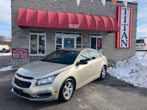 2016 Chevrolet Cruze Limited for sale at Titan Auto Sales LLC in Albany NY