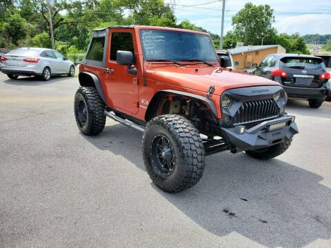 2009 Jeep Wrangler for sale at DISCOUNT AUTO SALES in Johnson City TN