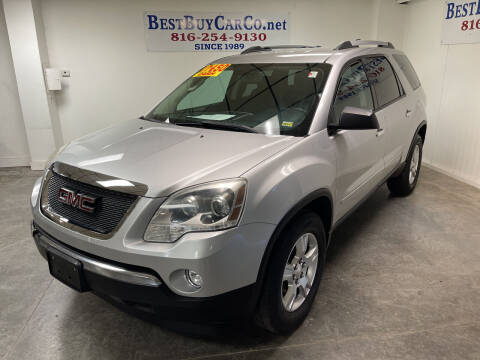 2011 GMC Acadia for sale at Best Buy Car Co in Independence MO