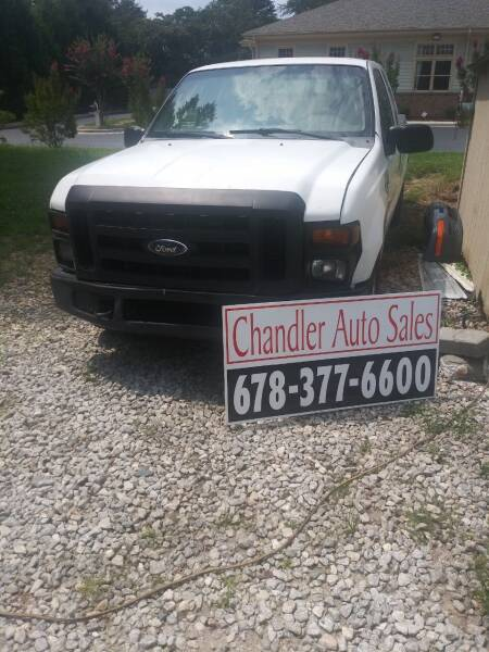 2008 Ford F-250 Super Duty for sale at Chandler Auto Sales - ABC Rent A Car in Lawrenceville GA