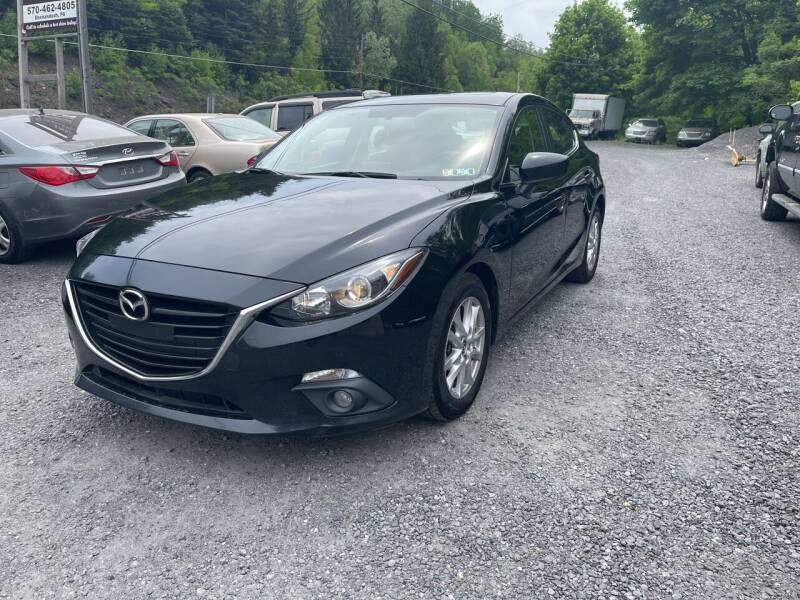 2015 Mazda MAZDA3 for sale at JM Auto Sales in Shenandoah PA