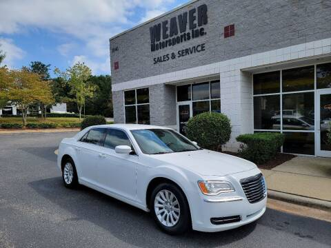 2014 Chrysler 300 for sale at Weaver Motorsports Inc in Cary NC
