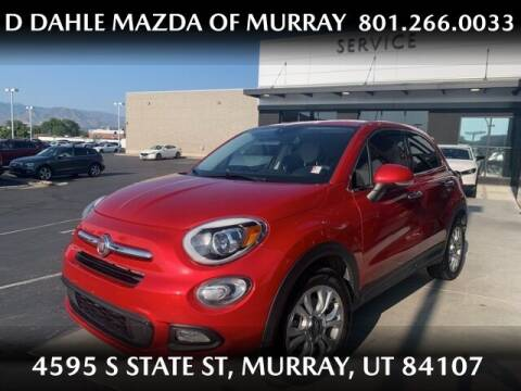 2016 FIAT 500X for sale at D DAHLE MAZDA OF MURRAY in Salt Lake City UT