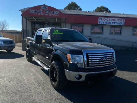 2012 Ford F-150 for sale at Choice Motors of Salt Lake City in West Valley  City UT