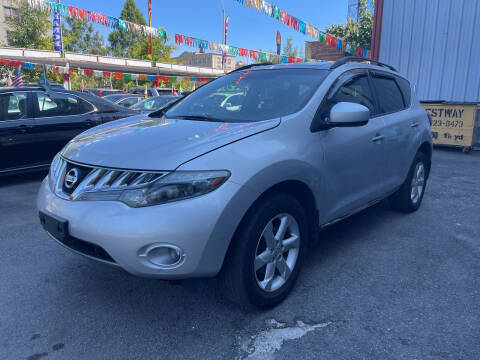 2009 Nissan Murano for sale at Gallery Auto Sales in Bronx NY