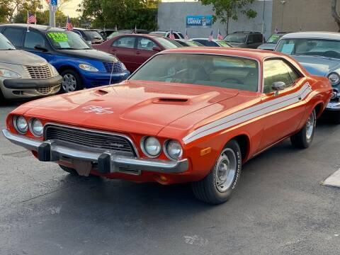 1973 Dodge Challenger for sale at KD's Auto Sales in Pompano Beach FL