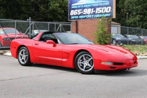 2003 Chevrolet Corvette for sale at Skyline Motors in Louisville TN