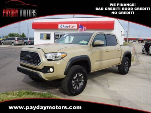 2018 Toyota Tacoma for sale at Payday Motors in Wichita KS