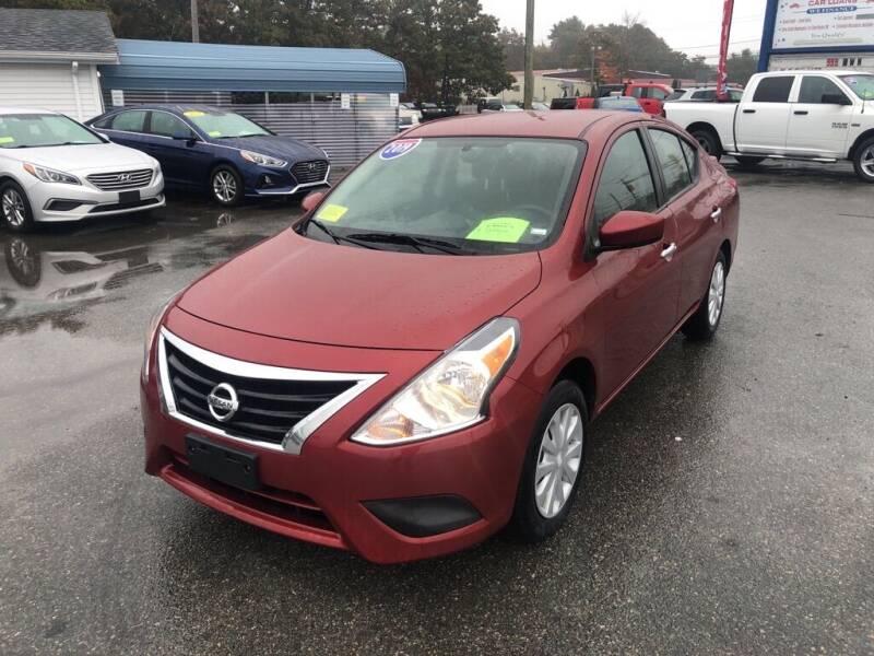 2019 Nissan Versa for sale at U FIRST AUTO SALES LLC in East Wareham MA
