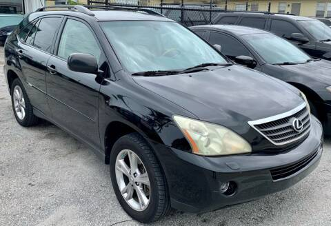 2007 Lexus RX 400h for sale at Naber Auto Trading in Hollywood FL