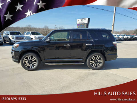 2016 Toyota 4Runner for sale at Hills Auto Sales in Salem AR