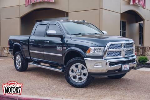 2018 RAM Ram Pickup 2500 for sale at Mcandrew Motors in Arlington TX