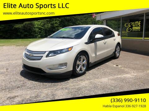 2013 Chevrolet Volt for sale at Elite Auto Sports LLC in Wilkesboro NC