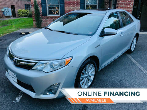 2012 Toyota Camry Hybrid for sale at White Top Auto in Warrenton VA