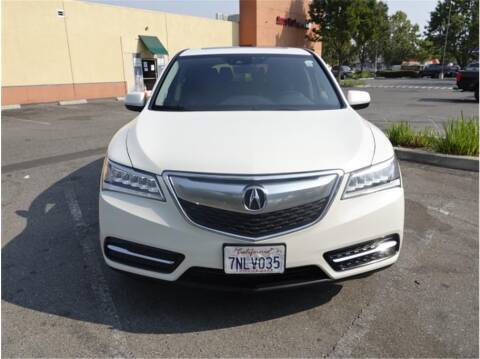 2016 Acura MDX for sale at BAY AREA CAR SALES in San Jose CA