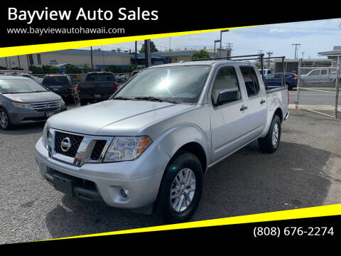 2014 Nissan Frontier for sale at Bayview Auto Sales in Waipahu HI