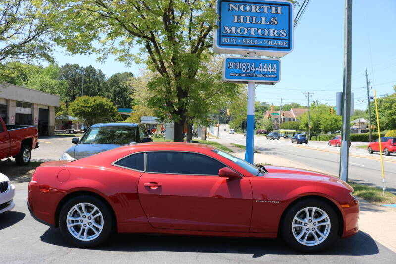 2014 Chevrolet Camaro for sale at North Hills Motors in Raleigh NC