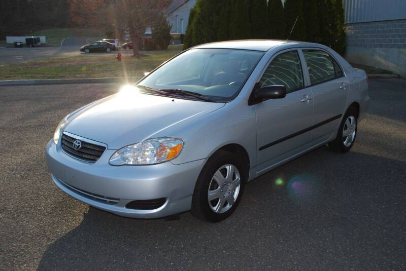 2007 Toyota Corolla for sale at New Milford Motors in New Milford CT