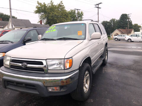 2000 Toyota 4Runner for sale at Mike Hunter Auto Sales in Terre Haute IN