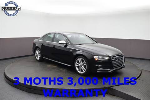 2015 Audi S4 for sale at M & I Imports in Highland Park IL