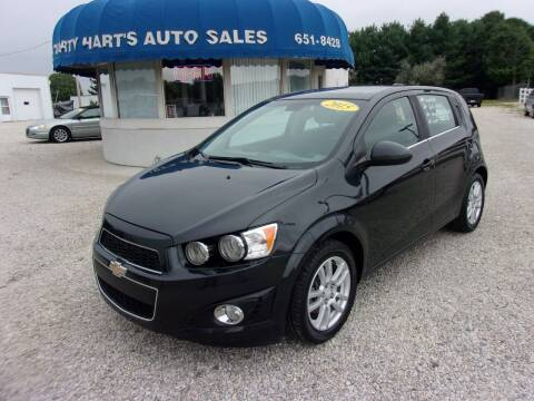 2015 Chevrolet Sonic for sale at Marty Hart's Auto Sales in Sturgis MI