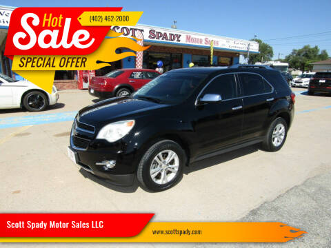 2013 Chevrolet Equinox for sale at Scott Spady Motor Sales LLC in Hastings NE