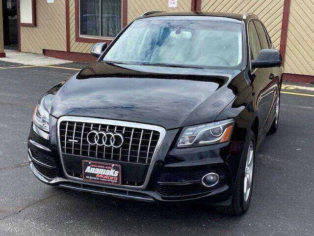 2012 Audi Q5 for sale at Anamaks Motors LLC in Hudson NH