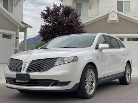 2013 Lincoln MKT for sale at Avanesyan Motors in Orem UT