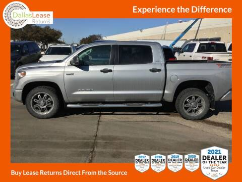 2018 Toyota Tundra for sale at Dallas Auto Finance in Dallas TX