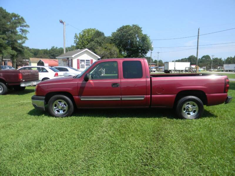 2004 Chevrolet Silverado 1500 for sale at SeaCrest Sales, LLC in Elizabeth City NC