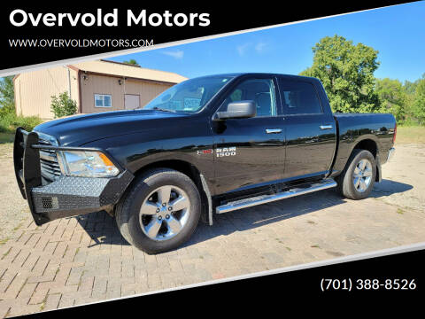 2014 RAM Ram Pickup 1500 for sale at Overvold Motors in Detroit Lakes MN